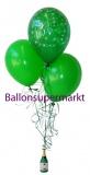 Ballon-Bukett-Silvester, Tischdekoration aus Luftballons 03